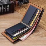Vintage Men Leather Wallets With Card Holders_2