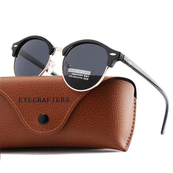 Awesome Unisex Polarized Round Sunglasses_1