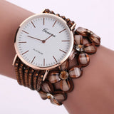 Cute White Women Diamond Wristwatch_4