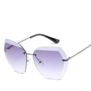 Rimless Women Sunglasses_1