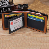 Vintage Men Leather Wallets With Card Holders_8