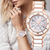 Gold Fashion Women Watch_1