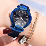 Fashion Watches Women With Magnetic Strap Buckle_4