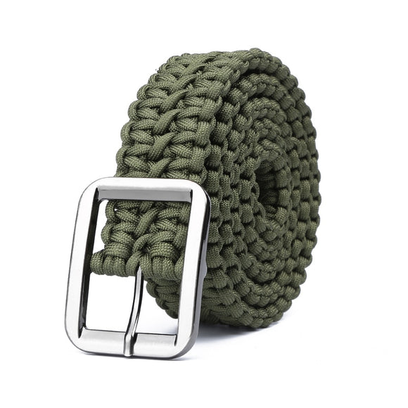 Survival Hand Made Belt Rope For Tactical Military_1