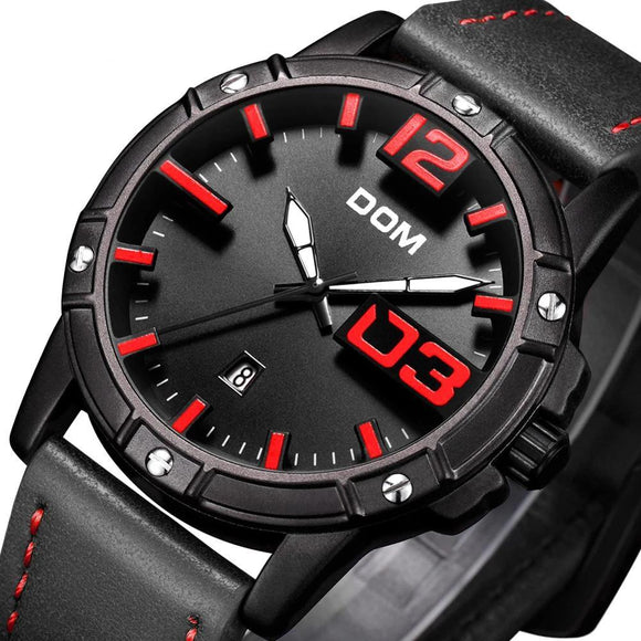 DOM Luxury Sport Quartz Watch_1