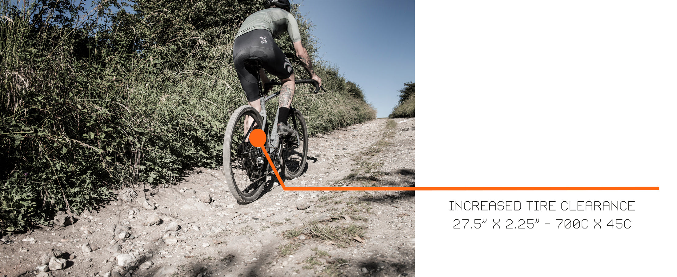 Cairn Cycles Tyre Clearance