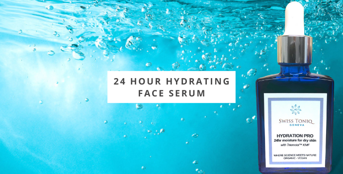24 Hour Hydrating Face Serum |  Intense Hydration For Dry Skin