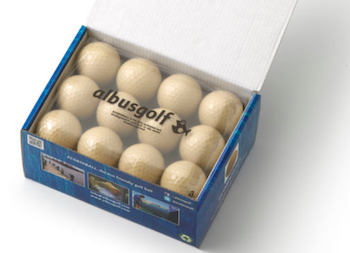 eco-friendly golf balls