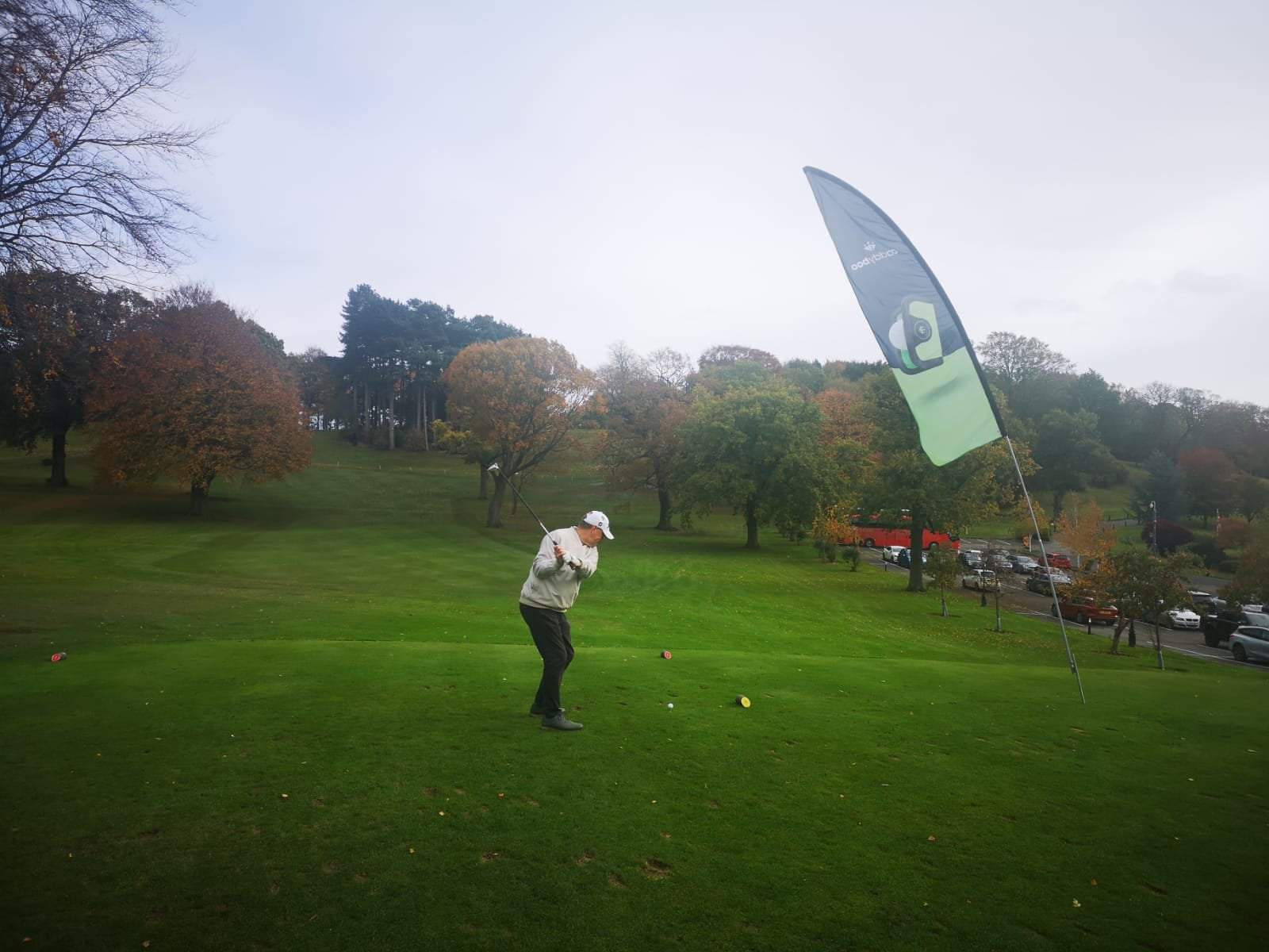 golfer on the green