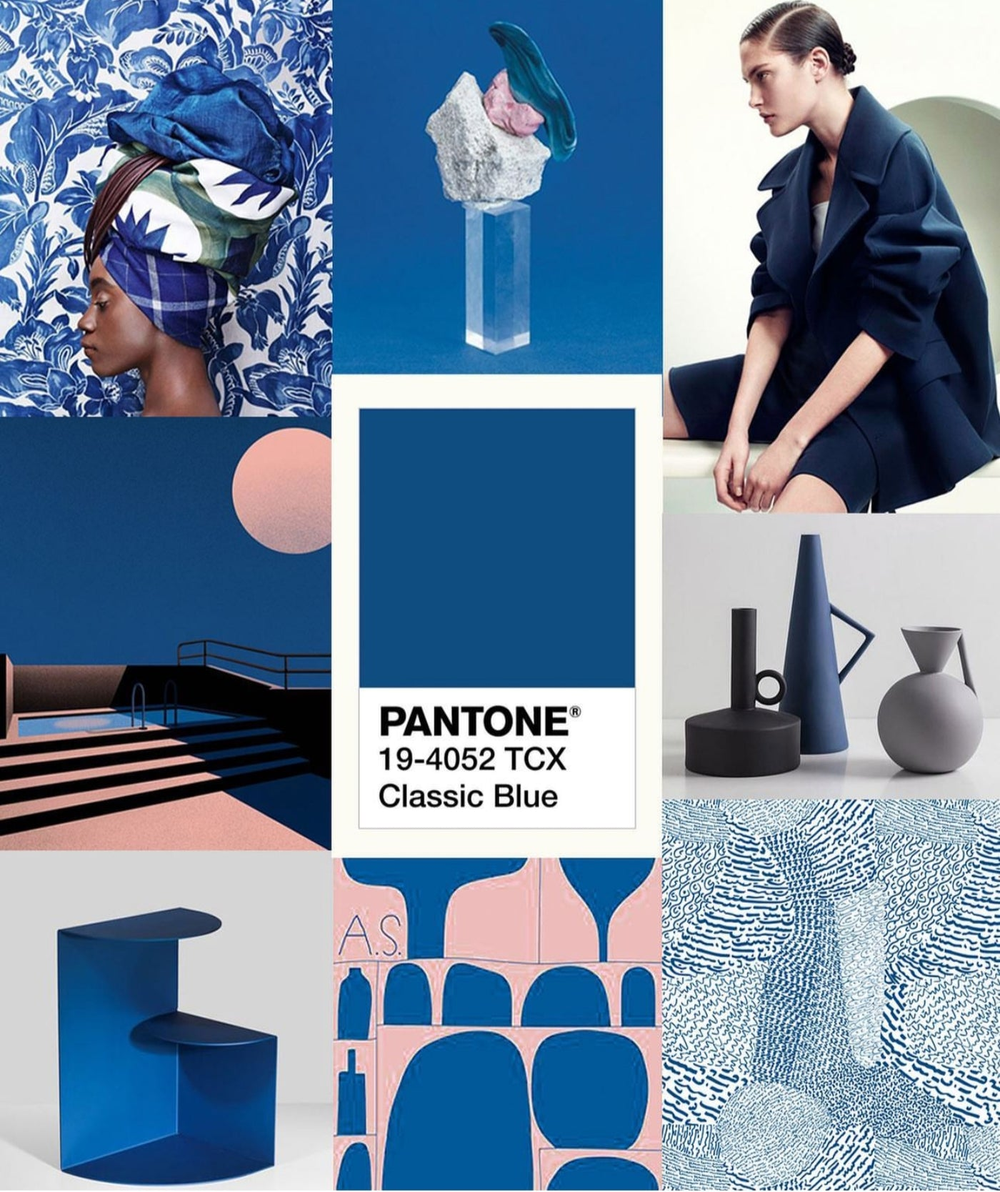 Pantone Color of the Year 2020 Classic Blue Amthyst Boutique