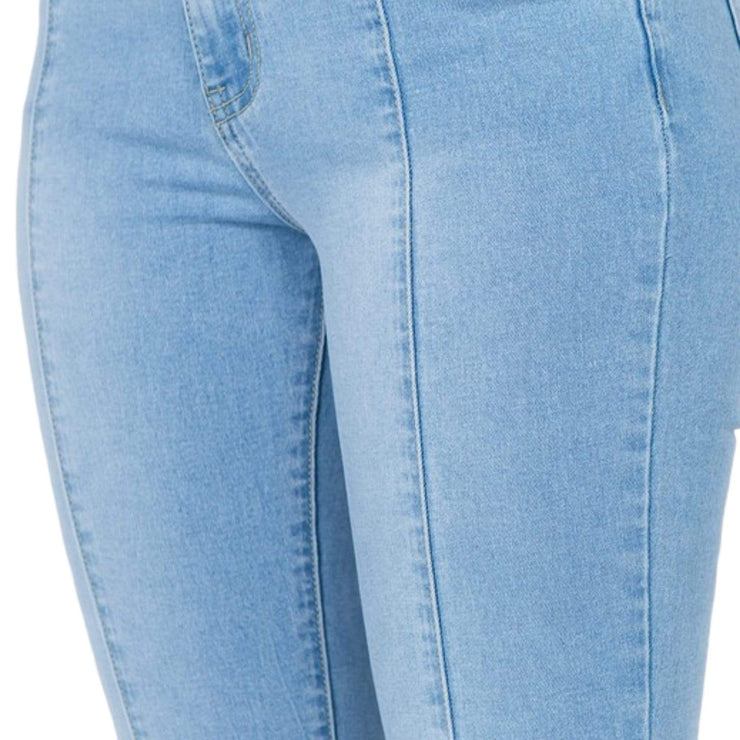 cropped plus size jeans