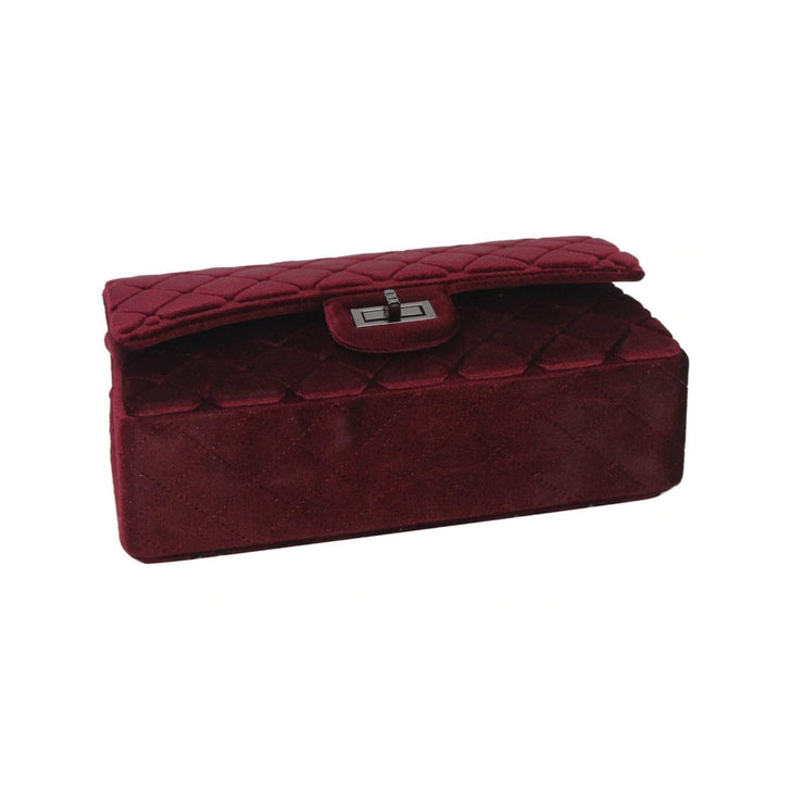 Lux Velvet Clutch - Amthyst Co.