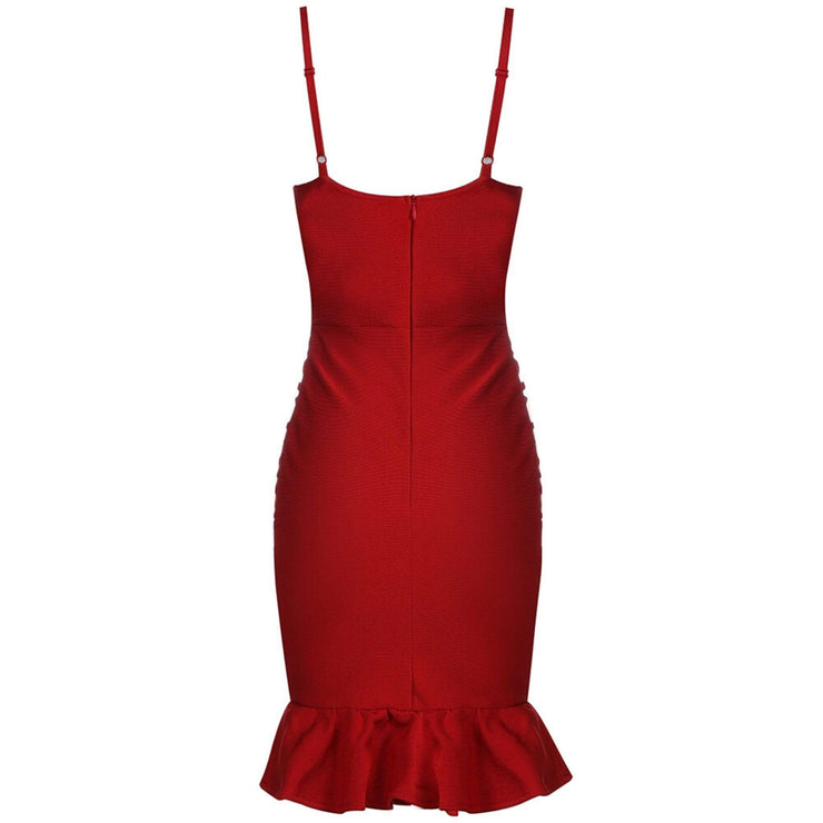 affordable red dress