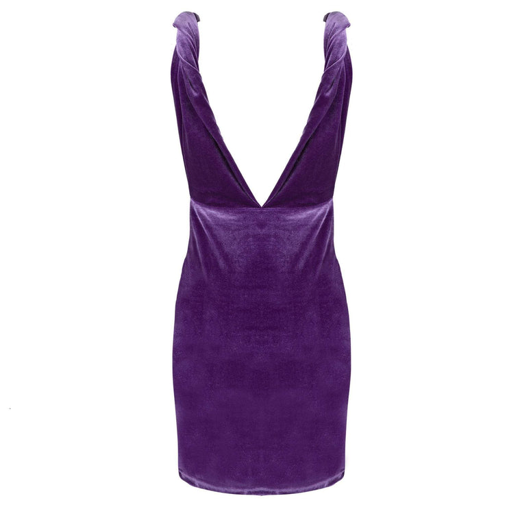 Purple Reign Mini Party Dress - Amthyst Co.