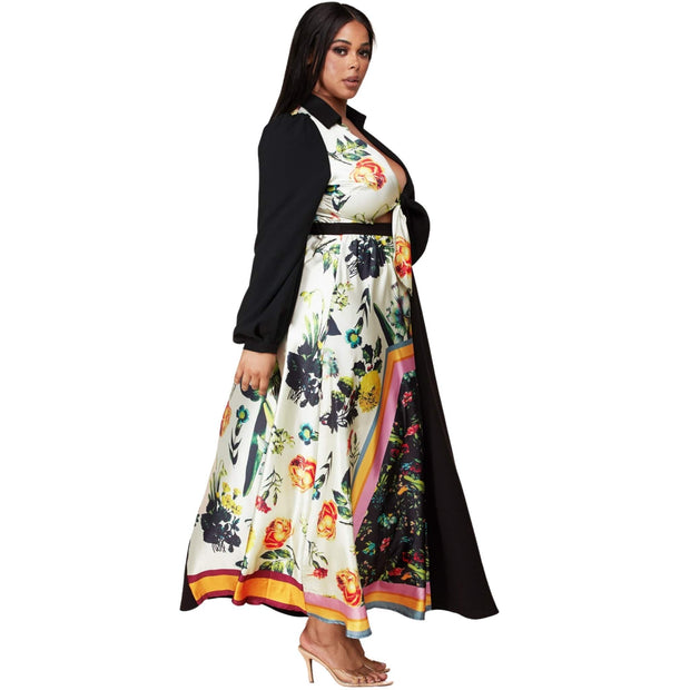 black plus size dresses