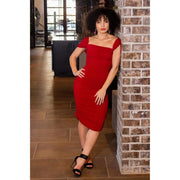 Ruby Ruched Dress