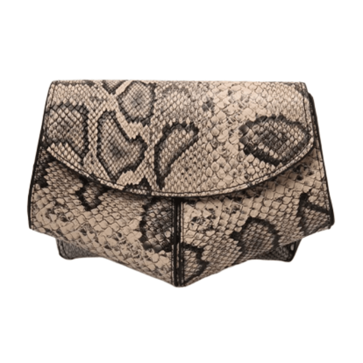 Desert Nude Snake Print  Adjustable Fanny Pack