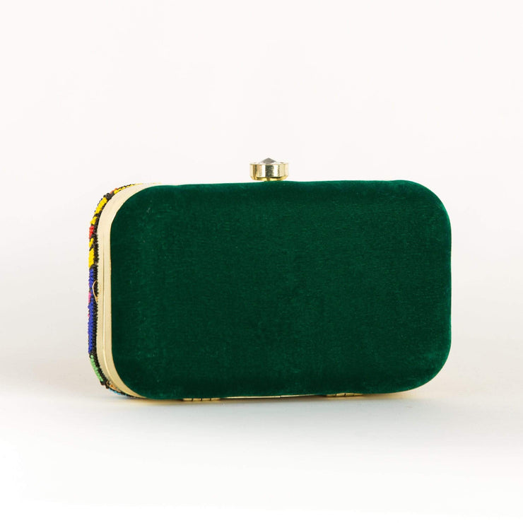 Nuz Portrait Party Clutch - Amthyst Co.