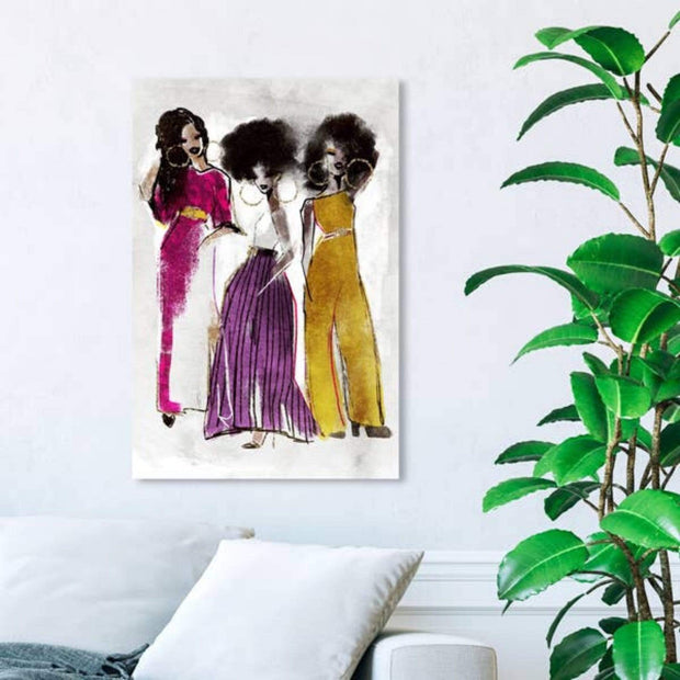 black women wall art