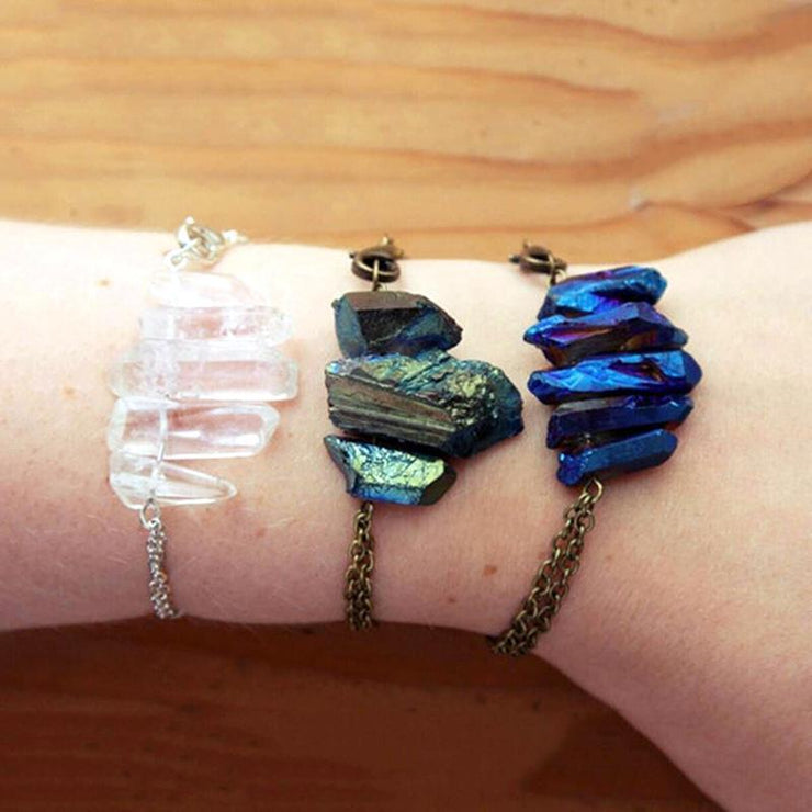 Raw Crystal Bracelet