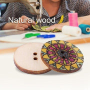 Multicolor Wood Accessories