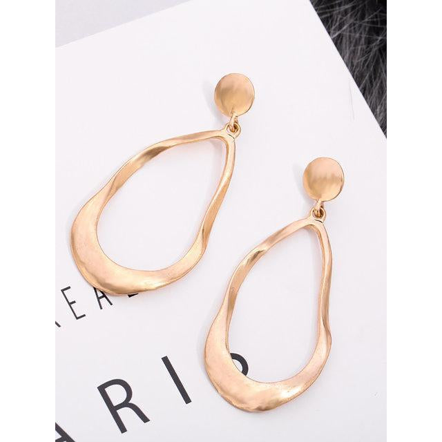 Womens Geometry Alloy Earrings