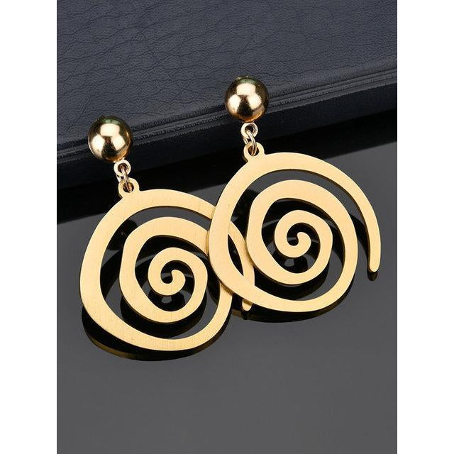 Gold Metal Earring