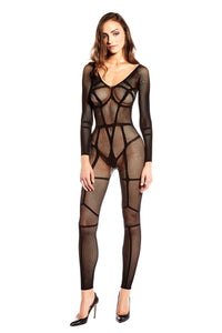 No Restrictions Bodystocking - [collection] - Honeybunnies.com