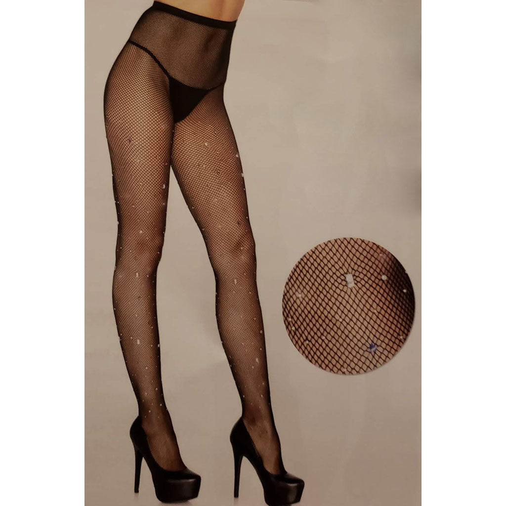 Full Length Sexy Trashy Mesh Net Panty Hose - [collection] - Honeybunnies.com