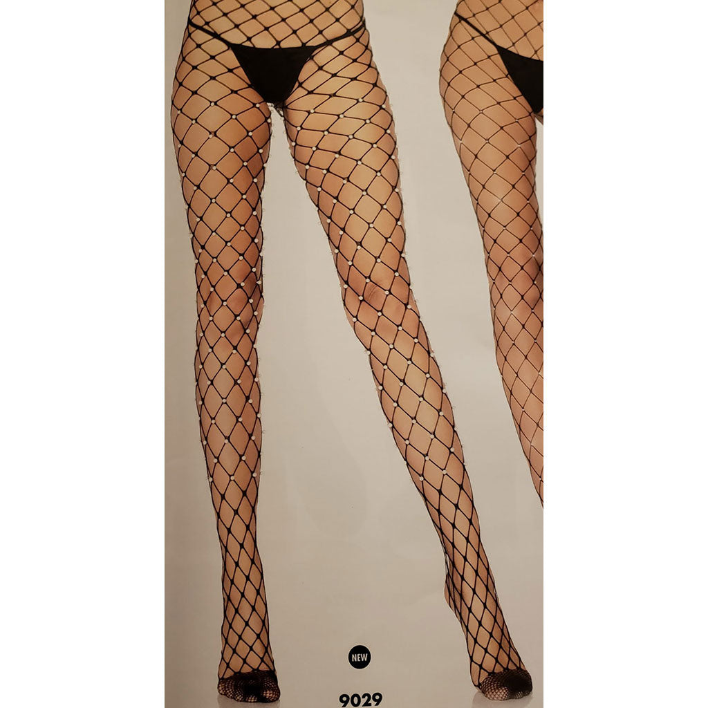 Wide Mesh Net Panty Hose - [collection] - Honeybunnies.com