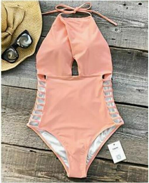 Pink One-Piece Swimsuit - [collection] - Honeybunnies.com