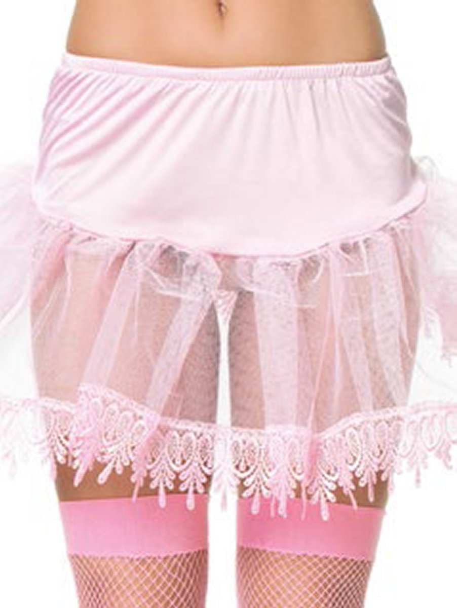 Petticoat With Special Lace Trim
