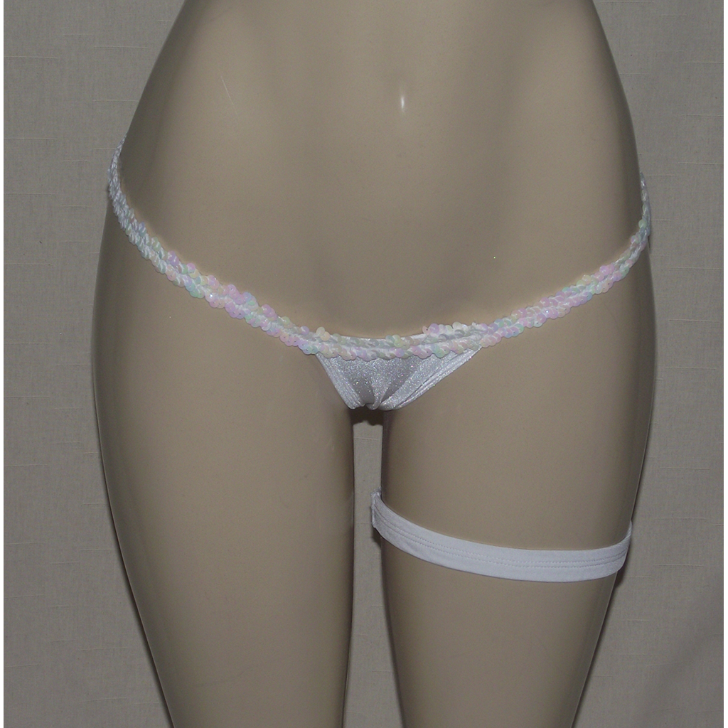 Teeny Weenie String Thong with Garter - [collection] - Honeybunnies.com