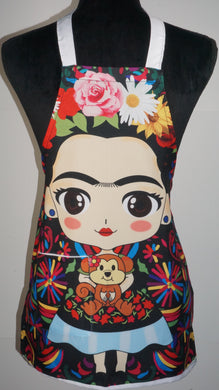 Mini Frida Kahlo Apron.
