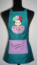 Mini Frida : Soy perfectamente  imperfecta 🤍Little Girls Apron.