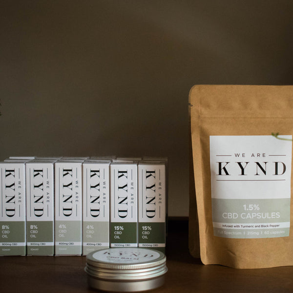 Using CBD for IBS Symptoms and Pain - We Are Kynd Products