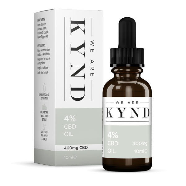 4% Full Spectrum CBD Oil (10ml) by We Are Kynd Ltd