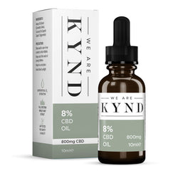 8% Full Spectrum CBD Oil (10ml) by We Are Kynd Ltd