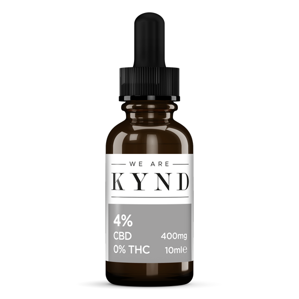Zero THC 4% Isolate CBD Oil by We Are Kynd Ltd