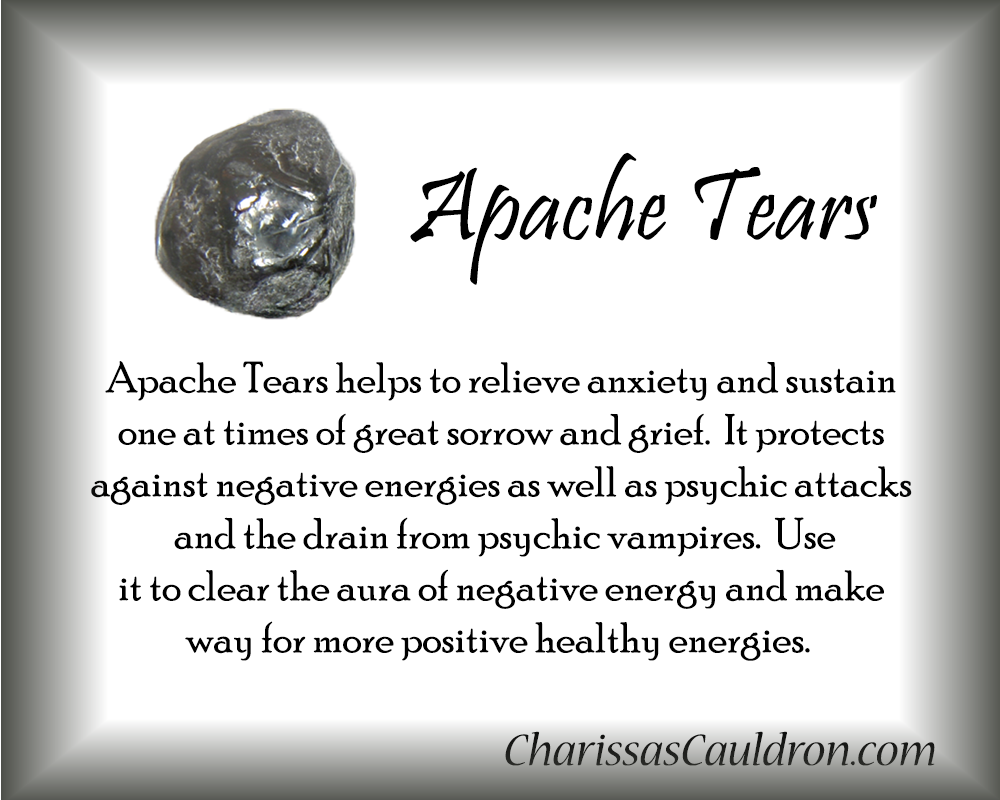 Apache Tears Crystal Essence