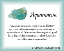 Aquamarine Crystal Essence
