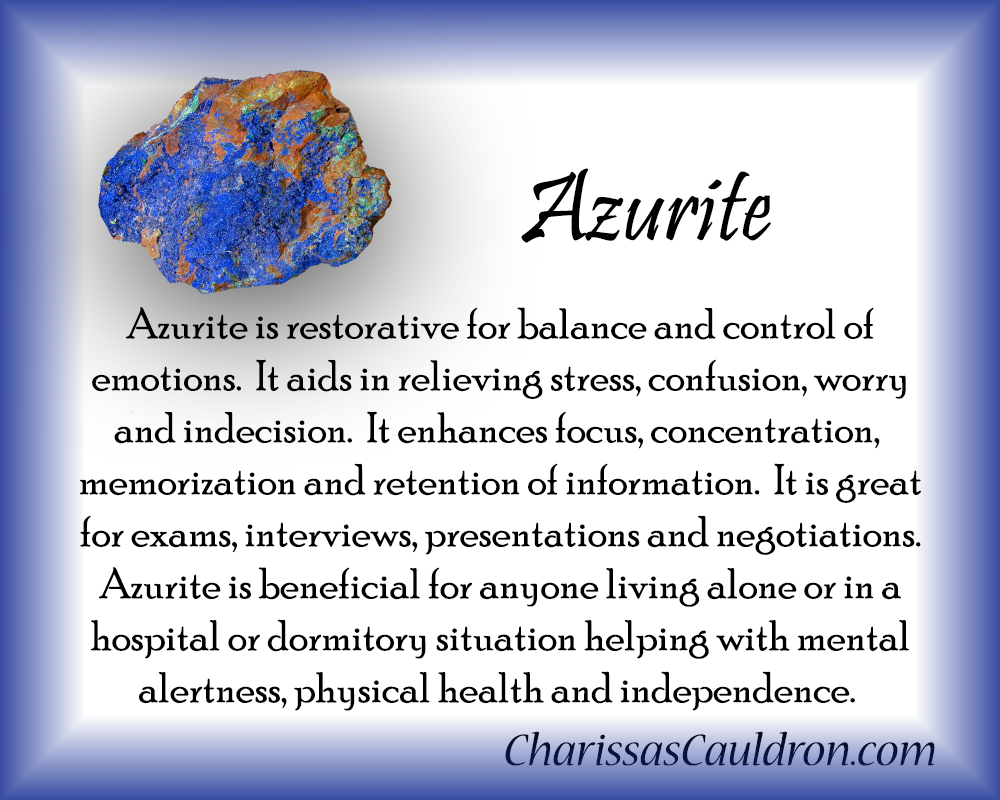 Azurite Crystal Essence