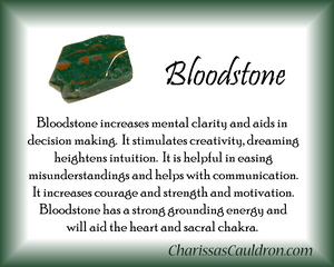 Bloodstone Crystal Essence