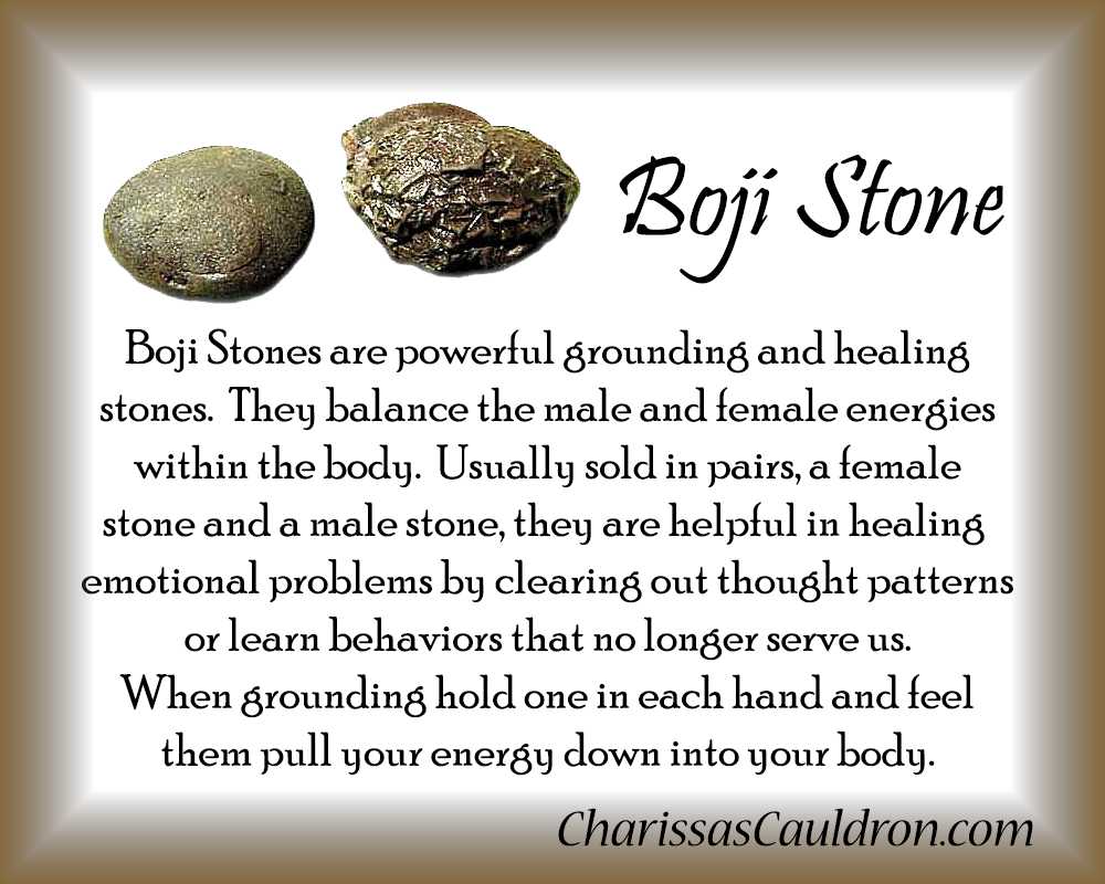 Boji Stone Crystal Essence