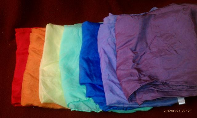 Color Therapy Silks