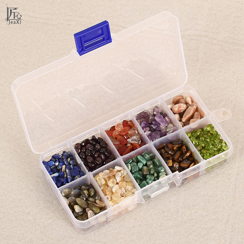 Stone chips - 200g/box Crystals Healing Reiki stones