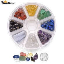 Set Tumbled Chips Stone Mix 7 Chakras