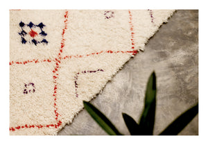 SMALL RED DIAMOND<br />Beni Ourain Rug