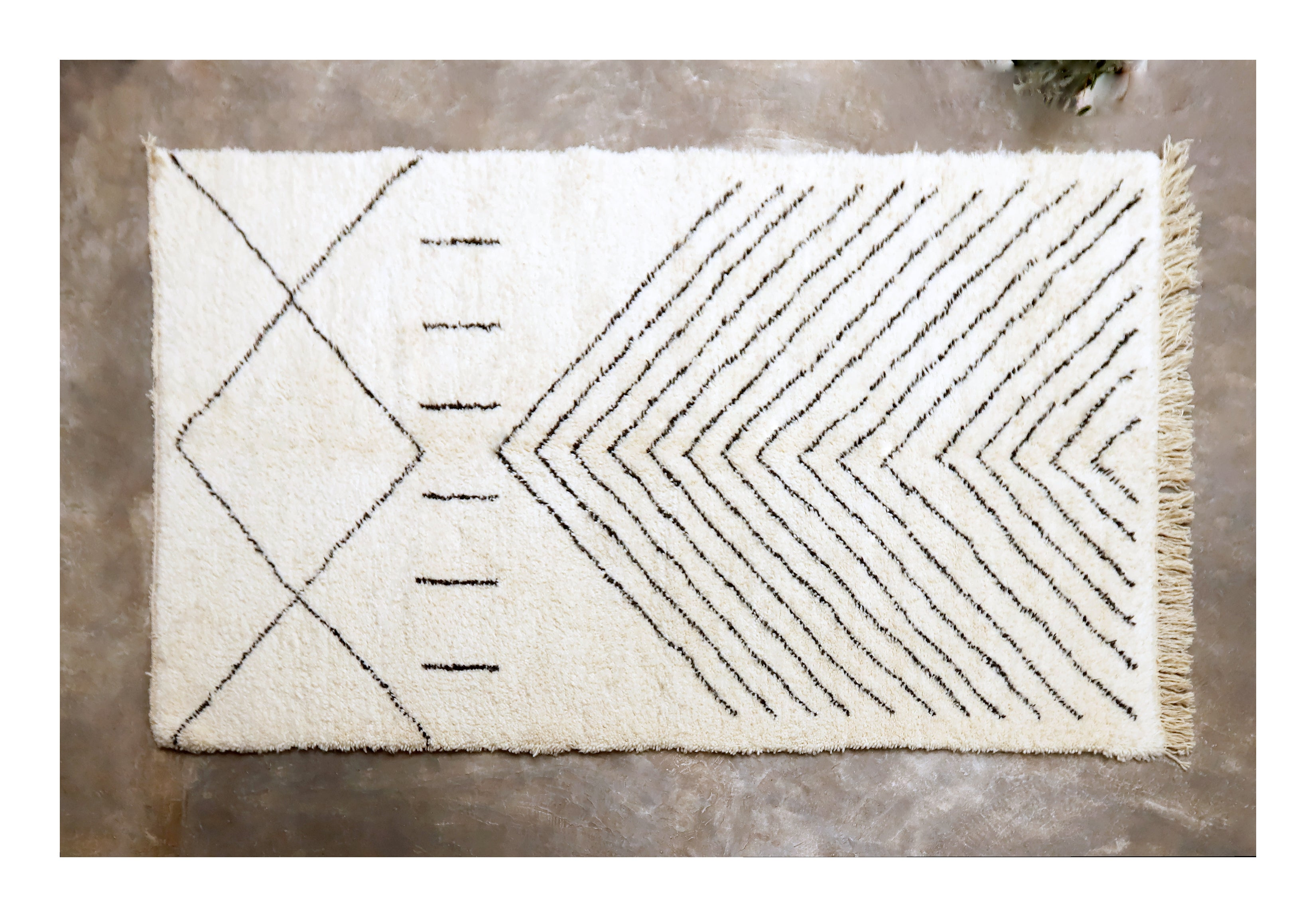 ARROWS<br />Beni Ourain Rug