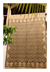 NEUTRALS - Hand-embroided Moroccan Rug